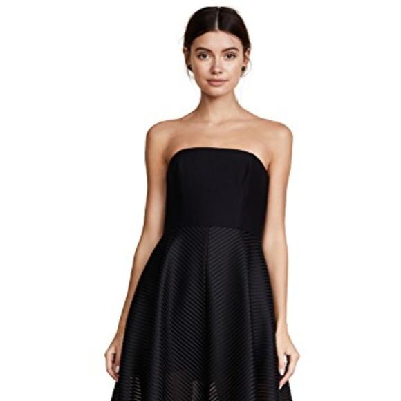 c3e6ce356474 Halston Heritage Dresses | Black Strapless Gown | Poshmark
